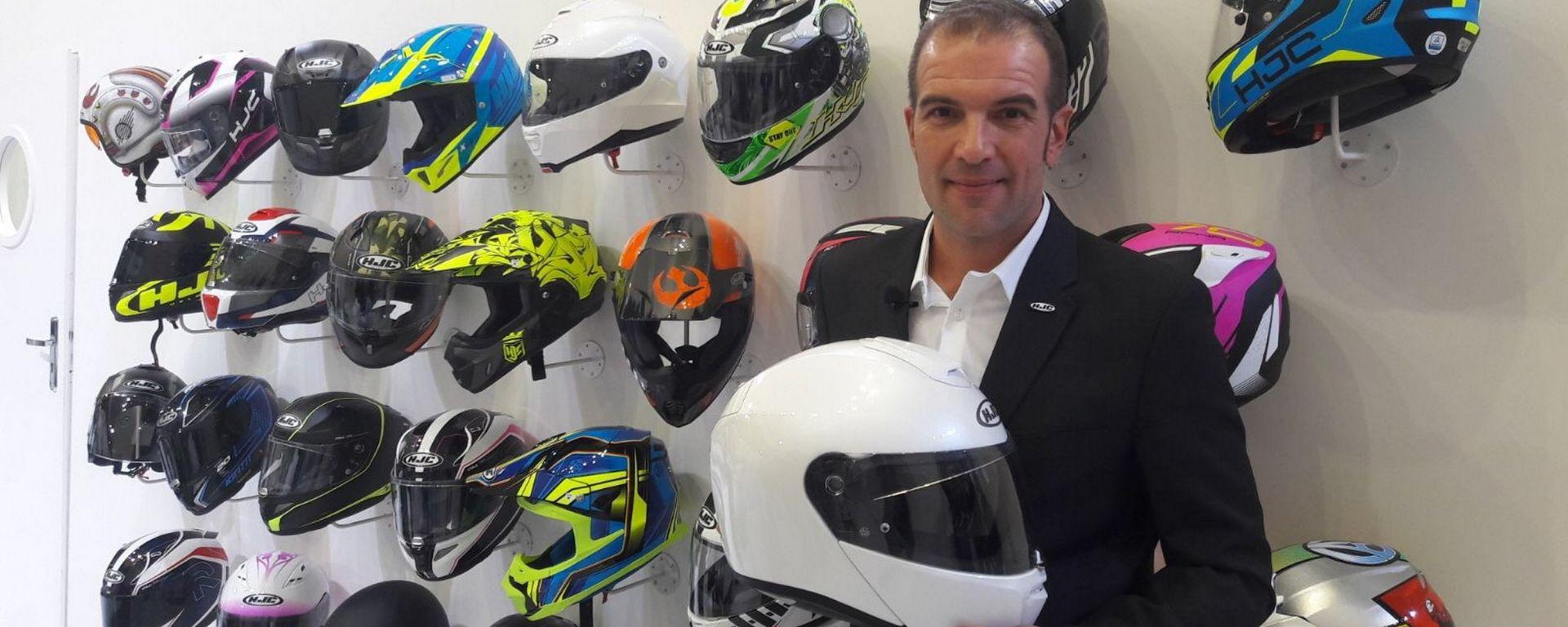Fulvio Crivelli, Sales Manager HJC Italia