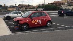 Furti, danni e solo 38 auto rimaste: così Enjoy lascia Catania