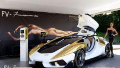 FV - Frangivento Charlotte Gold Edition: hypercar con l'acquario - Immagine: 2