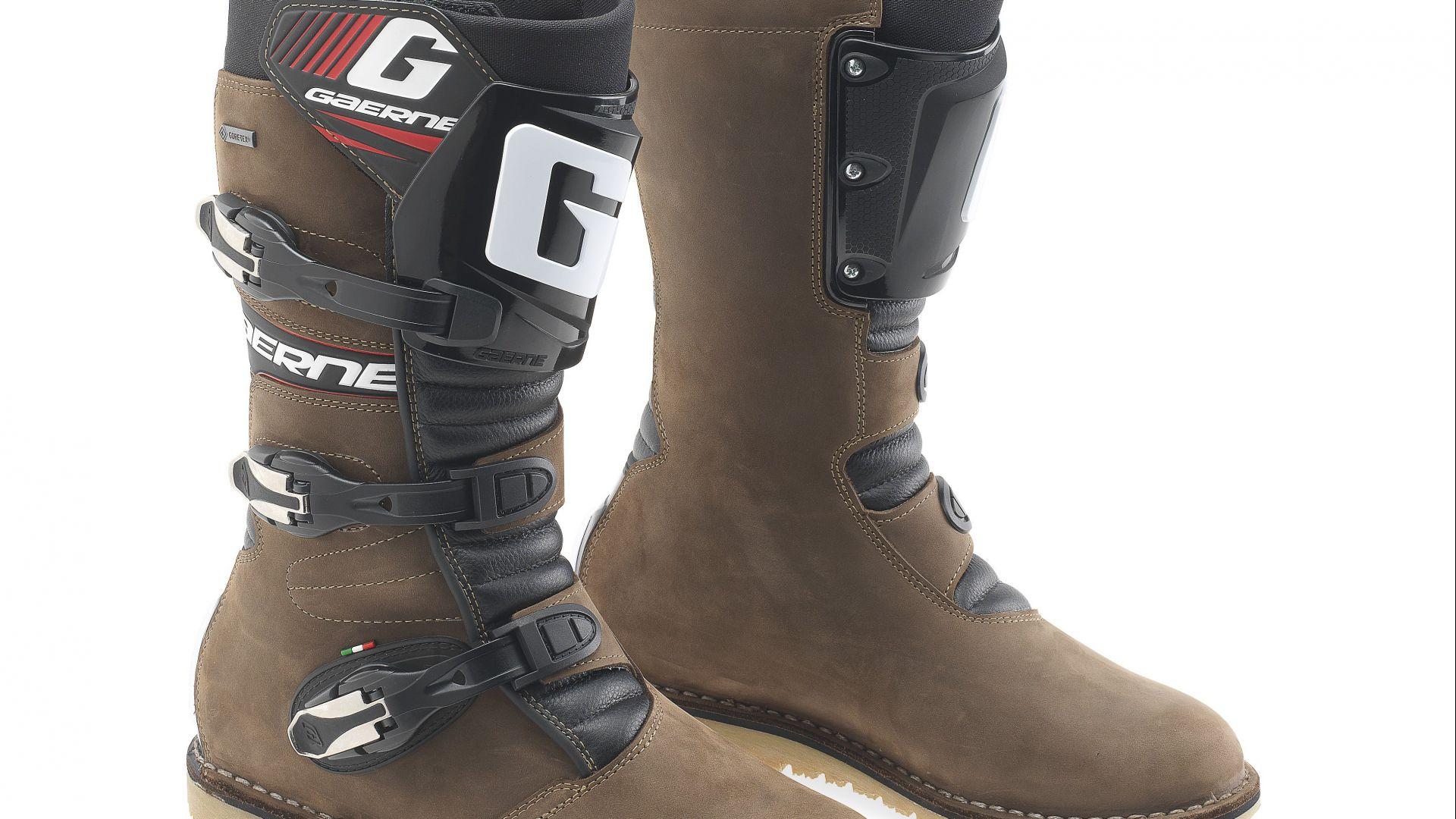cheap for discount a2d7a f523b Abbigliamento moto: Gaerne: gli stivali della gamma Touring ...