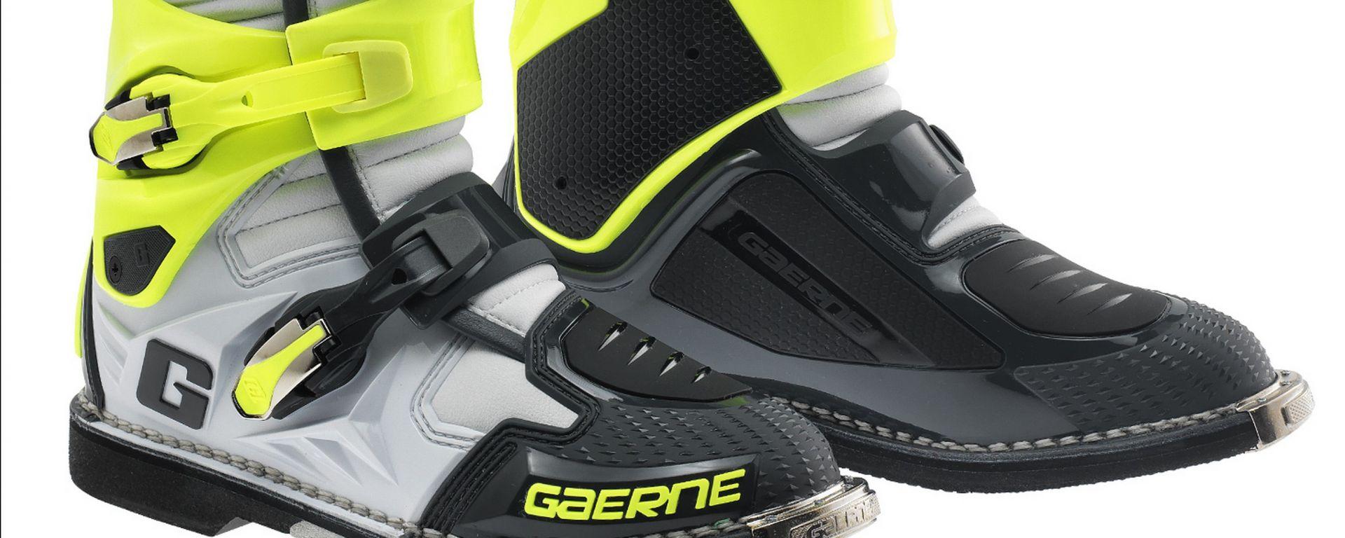 gaerne stivali moto  Abbigliamento moto : Gaerne: stivale SG.12 Grey-Yellow Fluo Limited ...