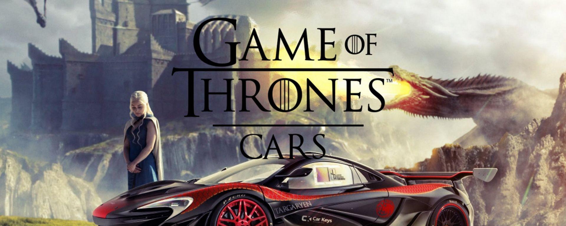 Game of Thrones: se i protagonisti avessero un'auto