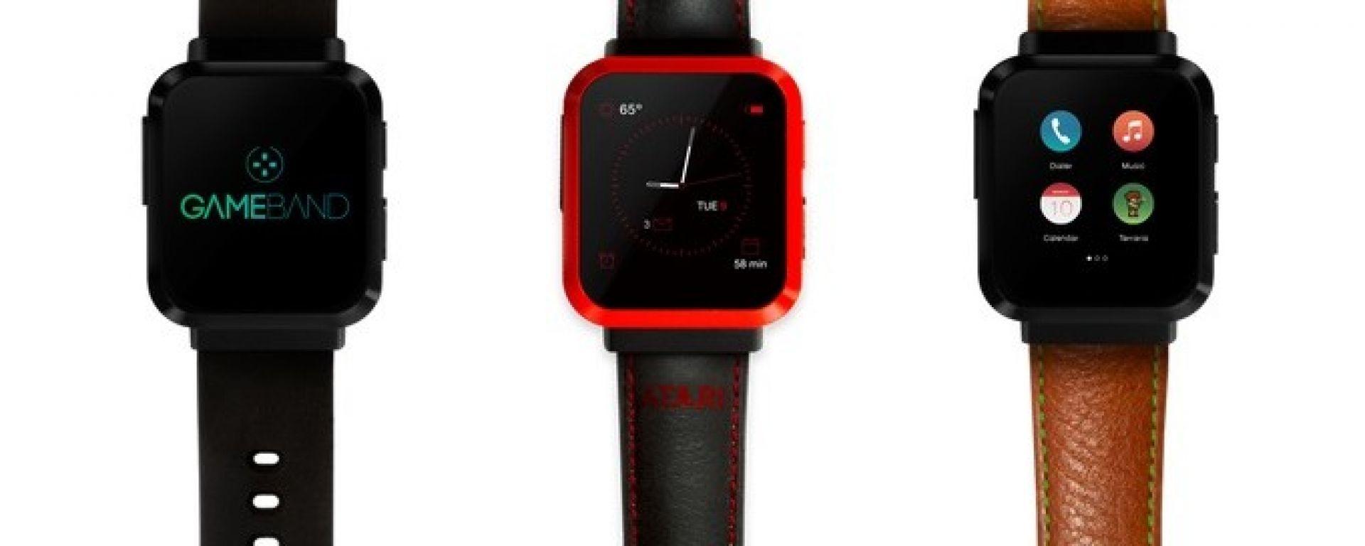 Gameband: lo smartwatch con i giochi dell'Atari