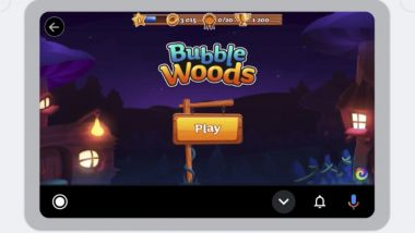 GameSnacks, i videogame per Android Auto: Bubble Woods