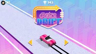GameSnacks, i videogame per Android Auto: Retro Drift