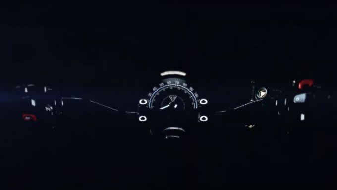 Gamma Bonneville 2021: la strumentazione è presa in prestito dalla Trident 660?