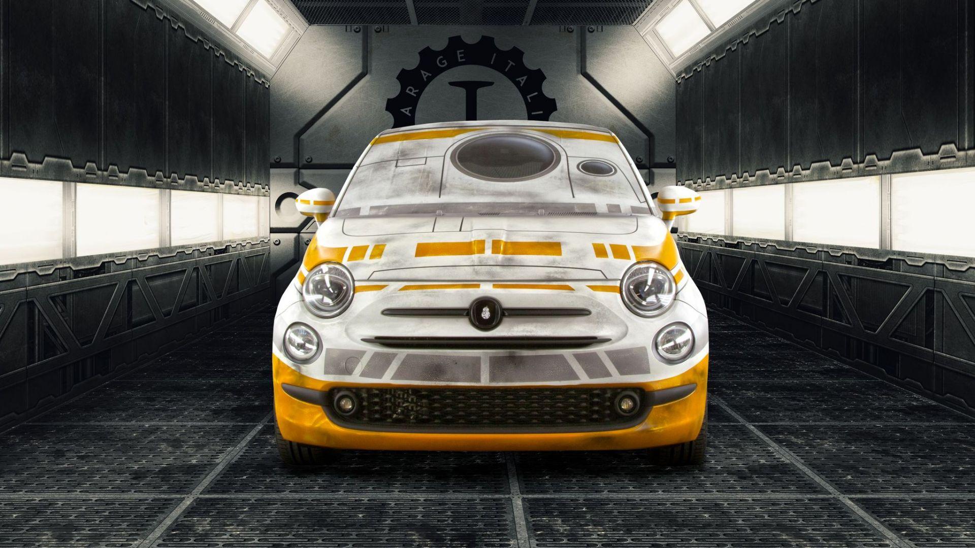 Novit auto garage italia customs le 500 di star wars for Garage auto star antony