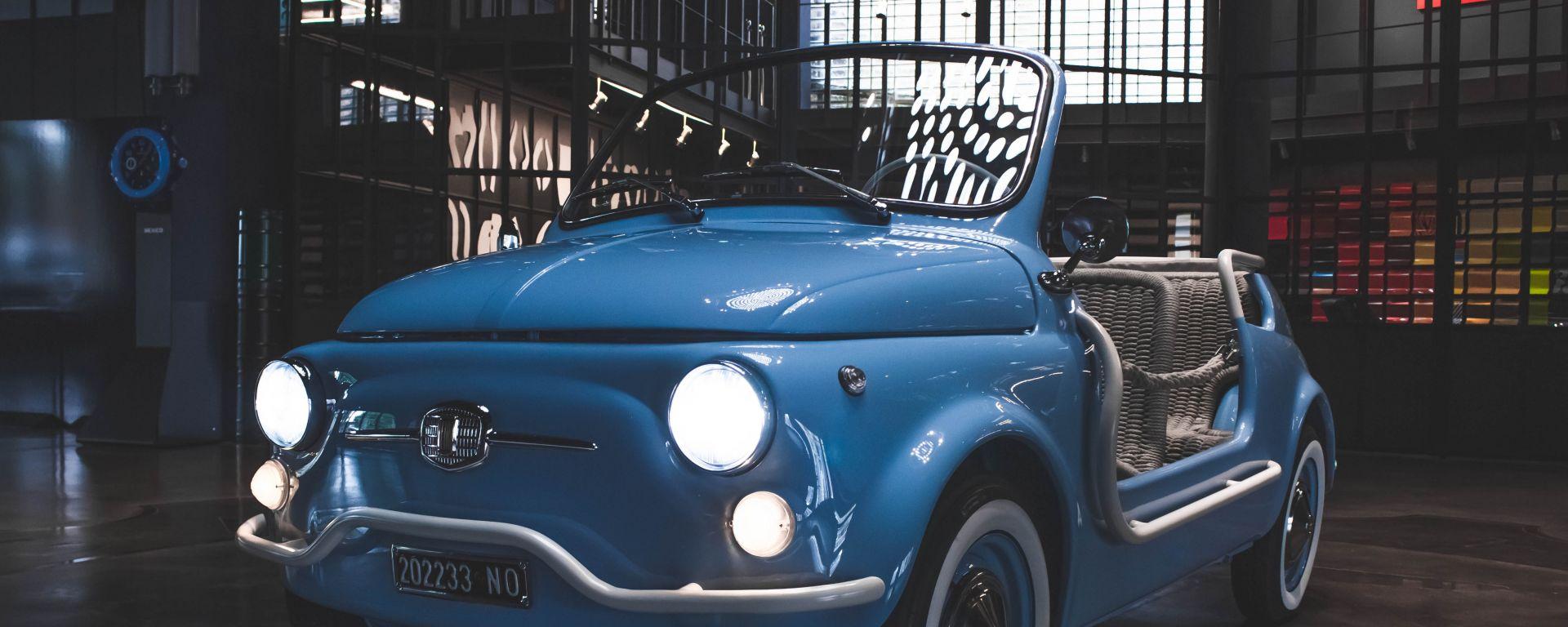 Garage Italia Icon-e Fiat 500 Jolly fronte