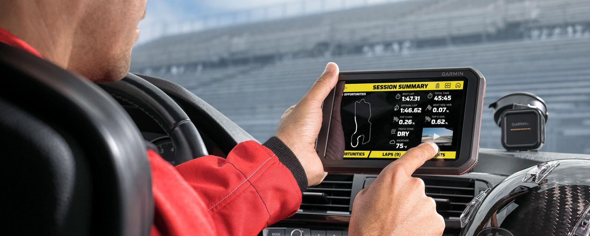 Garmin Catalyst, il coach virtuale per perfezionare la tecnica di guida in pista