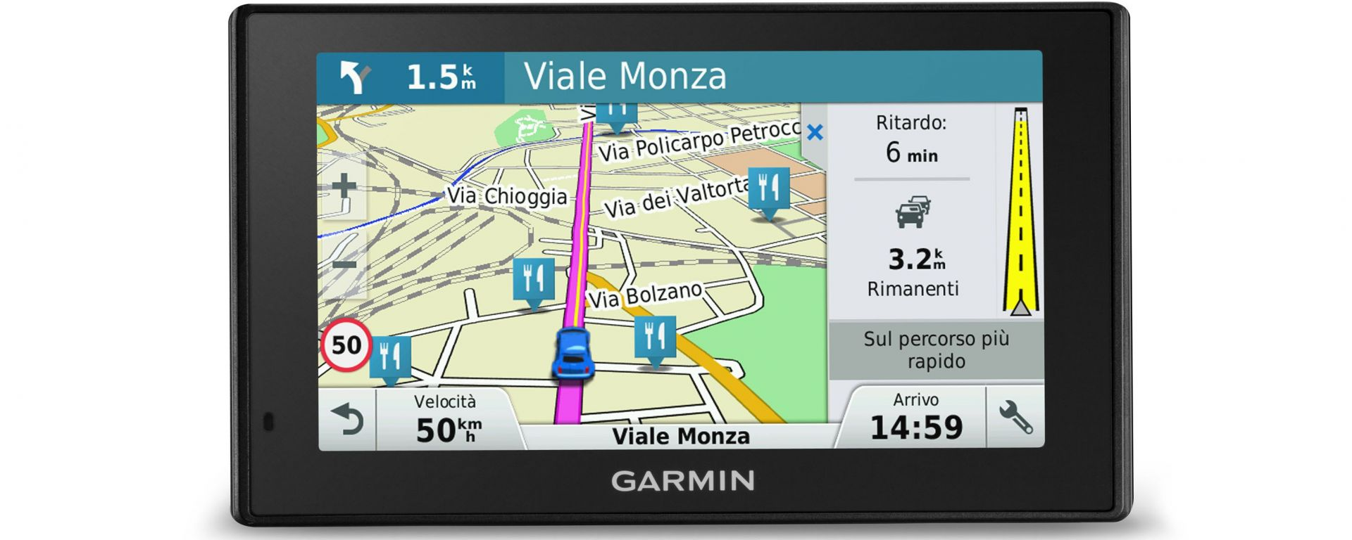 Garmin Digital Traffic DAB: l'infotraffico passa al digitale