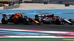 Gasly in pista in Francia