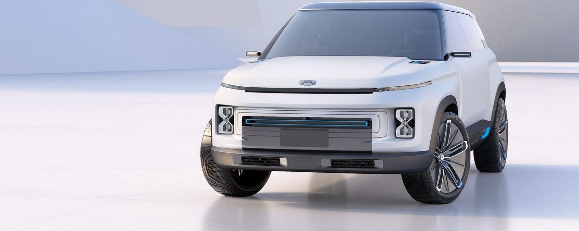 Geely Icon Concept, fratello segreto di Volvo XC40?