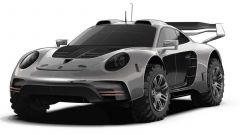 Gemballa Avalanche Porsche 911 4x4 il frontale