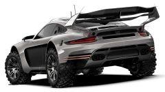 Gemballa Avalanche Porsche 911 4x4 il retro