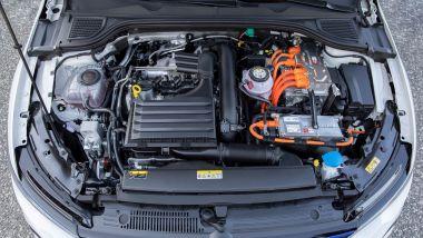 Gemelle diverse: Golf GTE, il powertrain ibrido plug-in