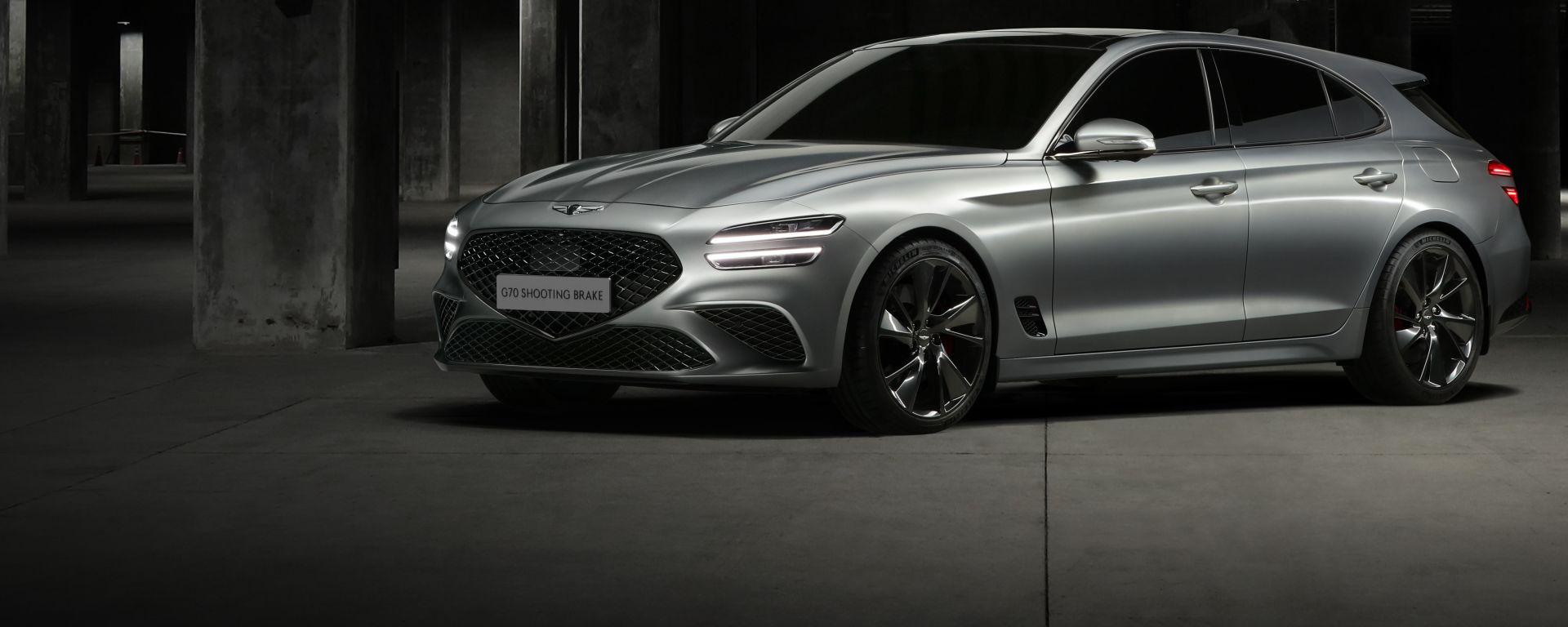 Genesis G70 Shooting Brake, sfida a BMW e Mercedes