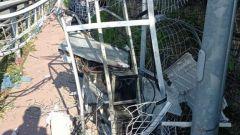Genova, la centralina del tutor di Via Guido Rossa è stata fatta saltare in aria