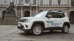 FCA e città di Torino: le Jeep Renegade 4Xe per il geofencing