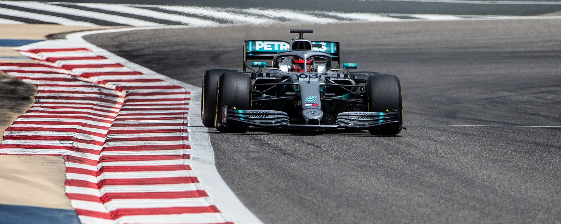 George Russell è il più veloce del Day-2 di in-season test F1 2019 in Bahrain