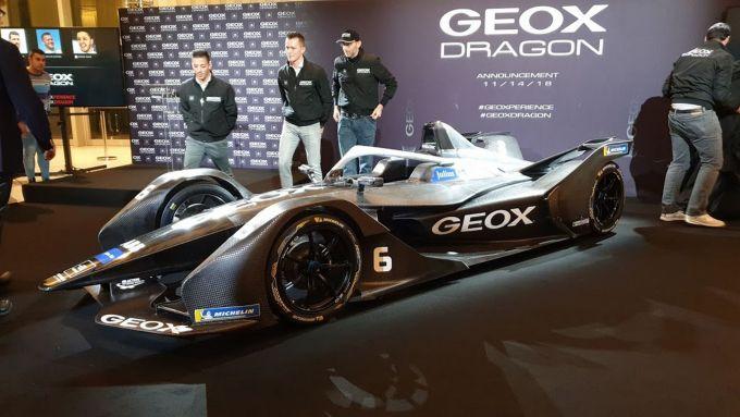 Formula E | Nuova partnership con GEOX per la Dragon