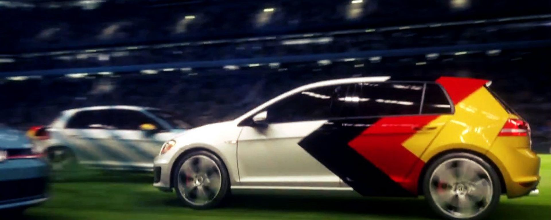 Germania-Argentina con la Golf GTI