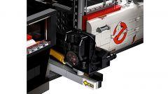 Ghostbusters: Ecto-1 Lego Creator, dettagli del carrello e per gli zaini protonici