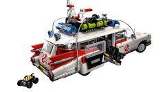 Ghostbusters, Ecto-1 Lego Creator: i dettagli come la trappola per i fantasmi e il carrello per gli zaini protonici