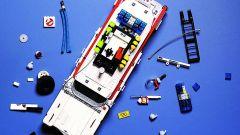 Ghostbusters: la Ecto-1 Lego Creator dall'alto