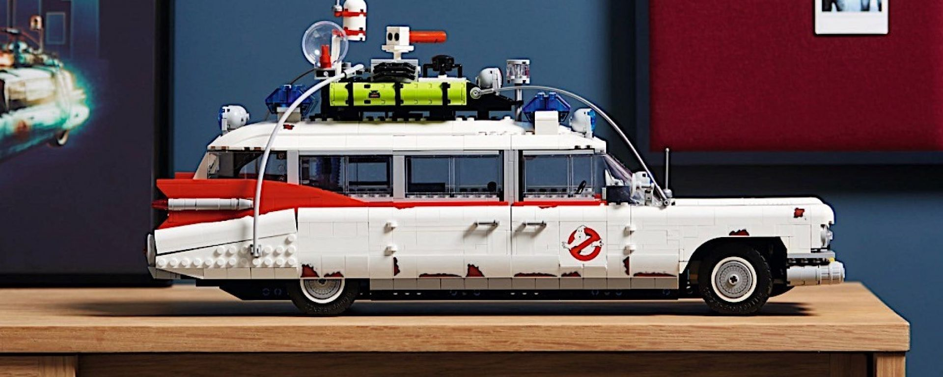 Ghostbusters: la Ecto-1 Lego Creator misura 46 cm di lunghezza