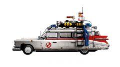 Ghostbusters: vista laterale della Ecto-1 Lego Creator