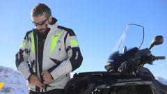Giacca Hevik Namib: grazie ai 3 strati offre ottimo riparo dal freddo