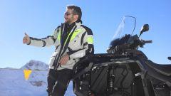 Giacca Hevik Namib: nonostante le protezioni rigide offre una buona mobilità