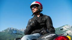 Giacca Rev'it! e casco Nolan per Marco Rocca