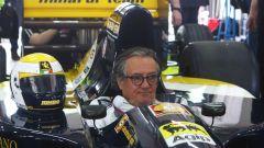 Gian Carlo Minardi all'Historic Minardi Day 2017