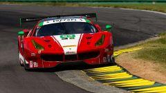 Giancarlo Fisichella in azione con la Ferrari 488