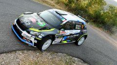 Giandomenico Basso è il leader della classifica CIR dopo il Rally Roma Capitale