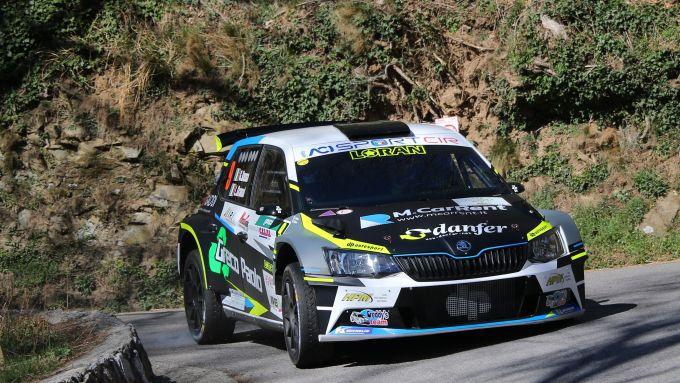 Giandomenico Basso e Lorenzo Granai - Skoda Fabia R5