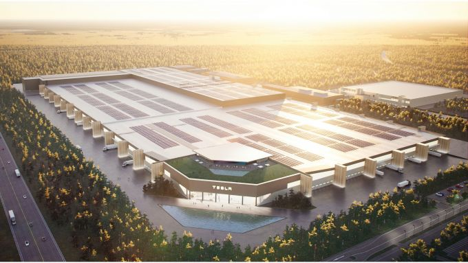 Gigafactory Berlin, come dovrebbe essere a fine 2021