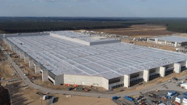 Gigafactory Berlin, il cantiere