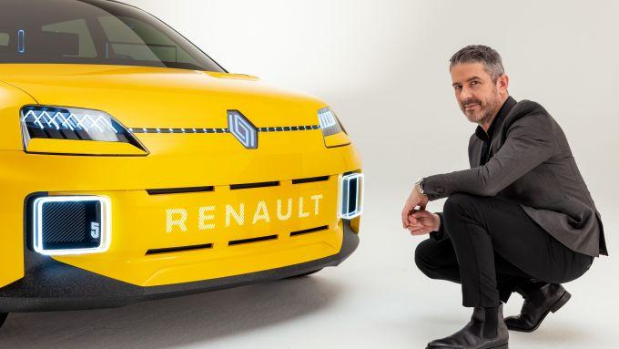 Gilles Vidal con Renault 5
