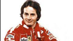 Gilles Villeneuve - l'immagine di tributo sui social della Scuderia Ferrari