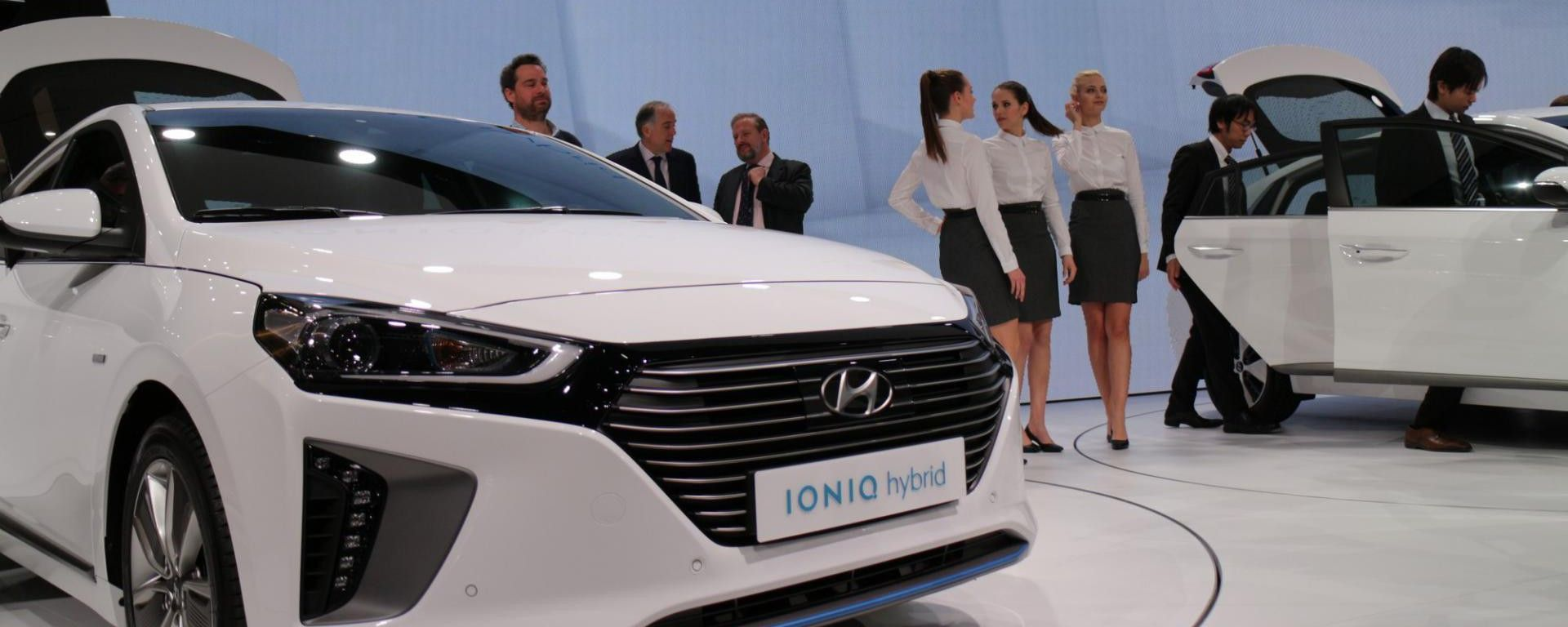 Ginevra 2016: la Hyundai Ioniq