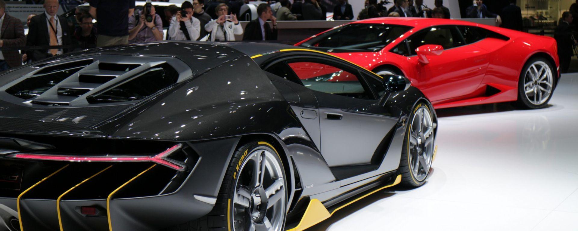 Ginevra 2016: la Lamborghini Centenario