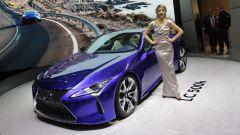 Ginevra 2016: Lexus LC 500h e LF-FC - Immagine: 1