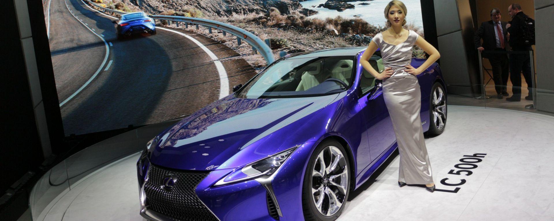 Ginevra 2016: Lexus LC 500h e LF-FC
