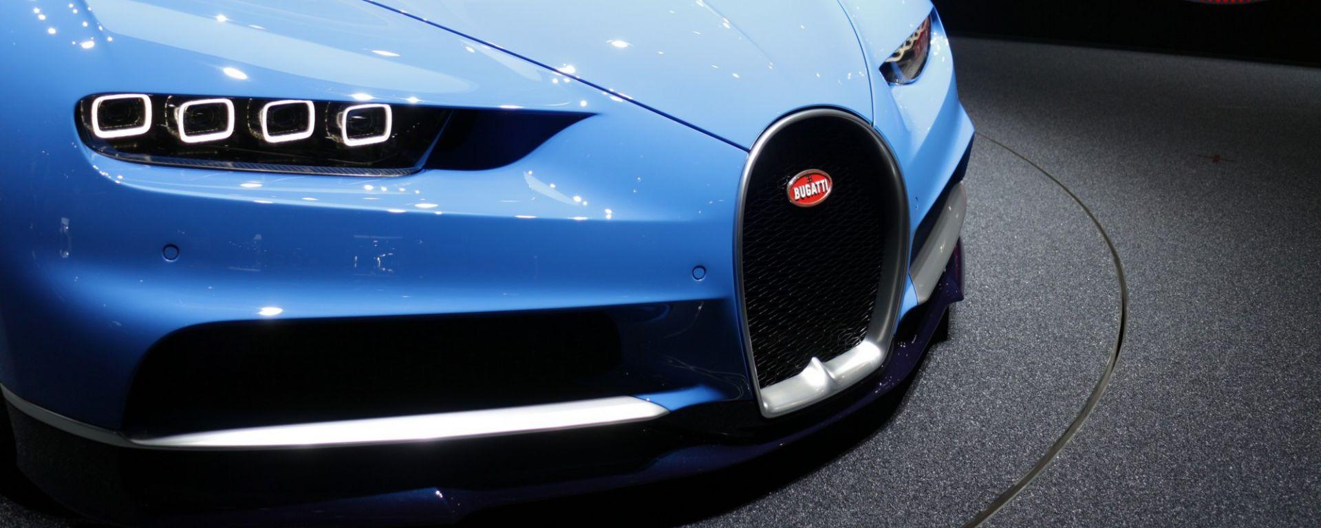 Ginevra 2016: Bugatti Chiron