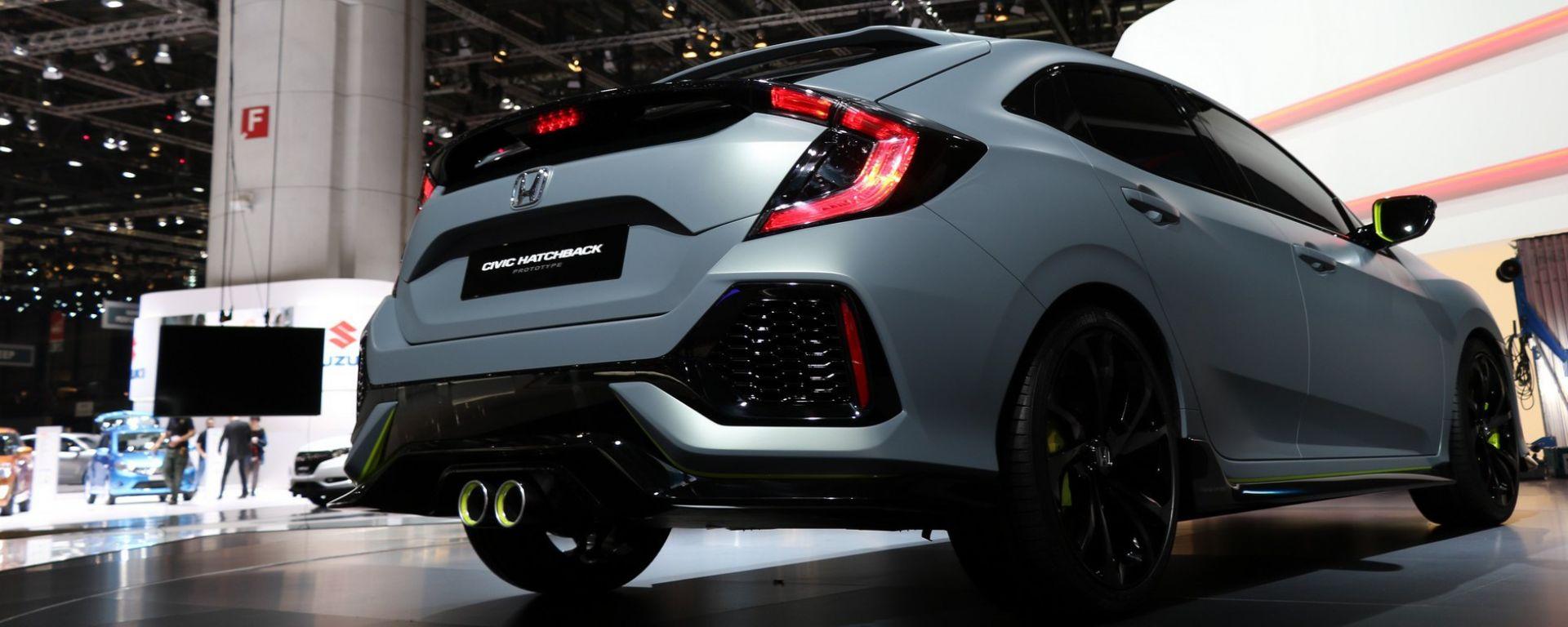 Ginevra 2016: lo stand Honda