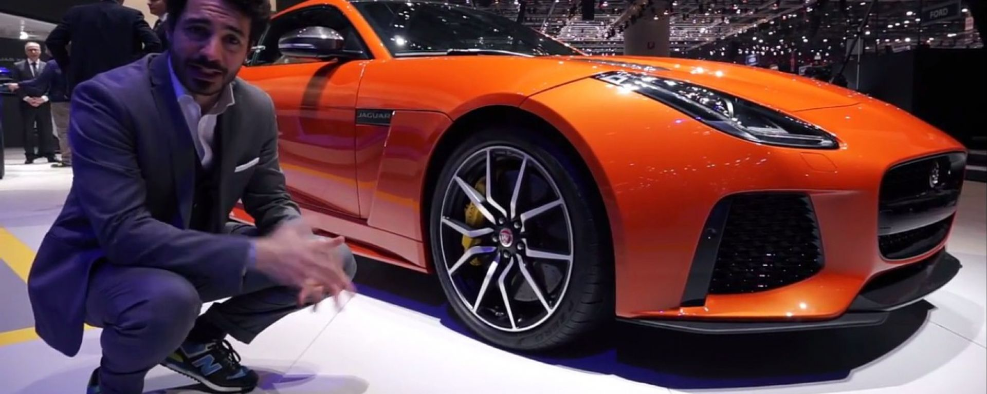 Ginevra 2016: lo stand Jaguar e Land Rover