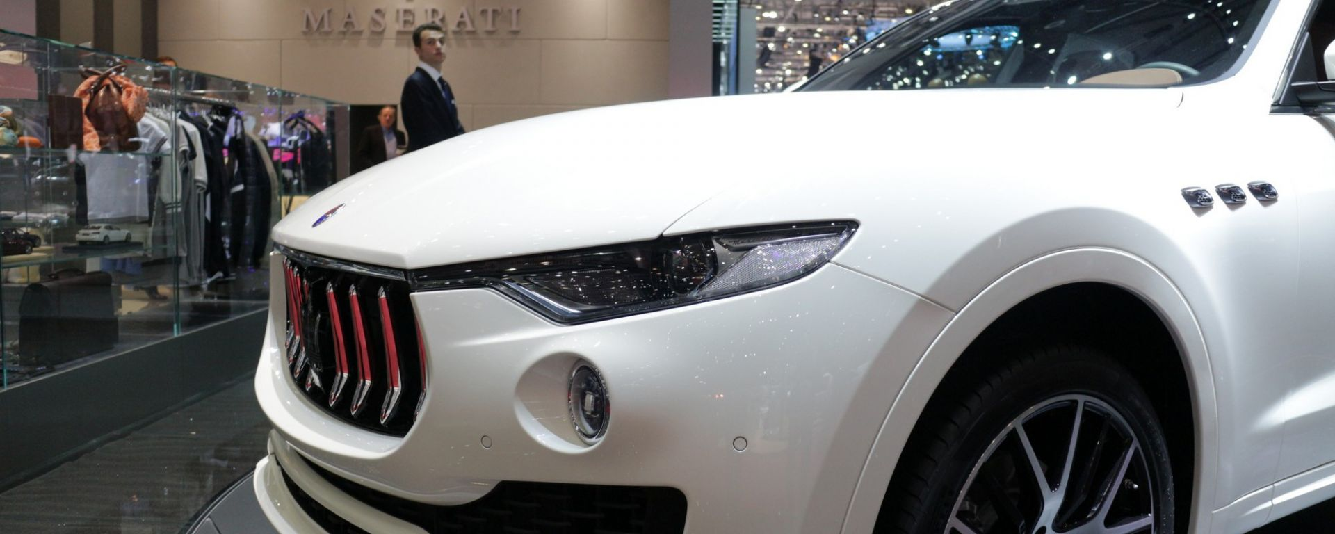 Ginevra 2016: Maserati Levante