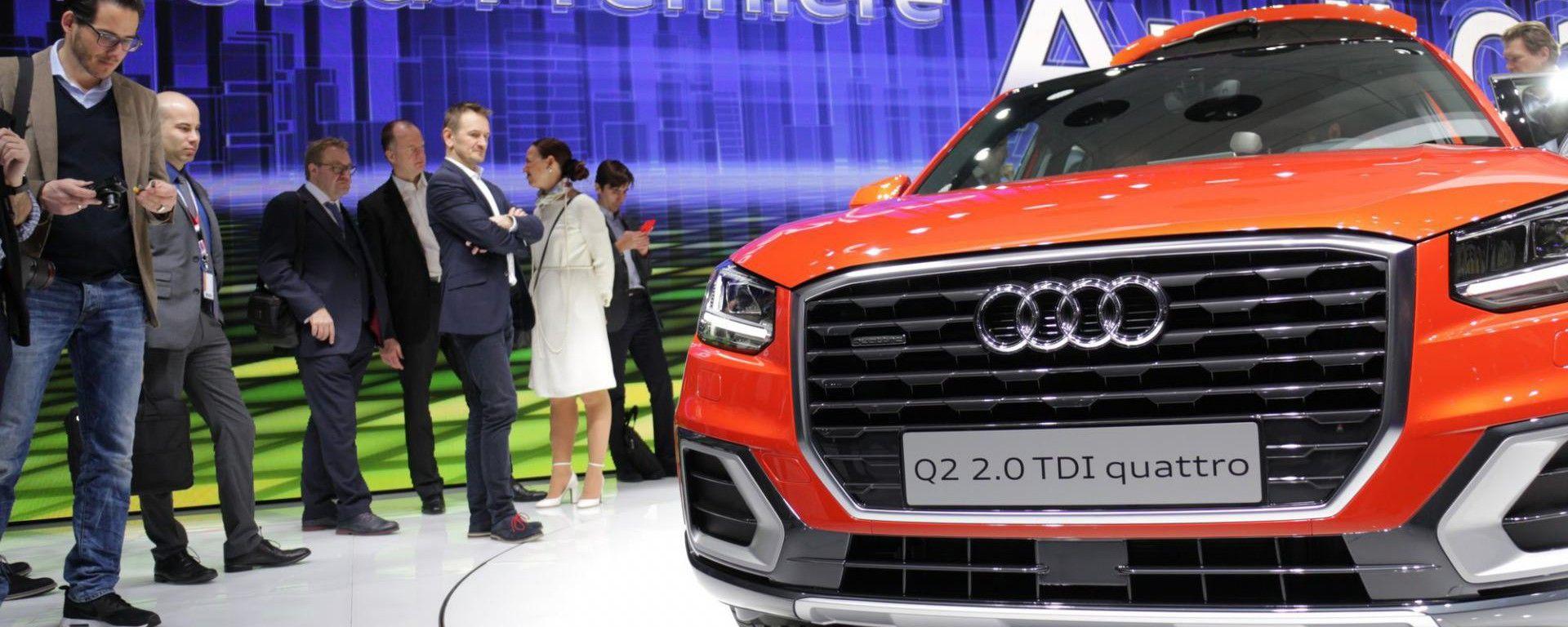 Ginevra 2016 - Notizie dalle Case: Audi